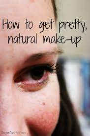 find out how to get pretty natural looking makeup in 3 easy steps