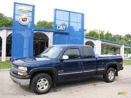 2002 Indigo Blue Metallic Chevrolet Silverado 1500 LS Extended Cab ...
