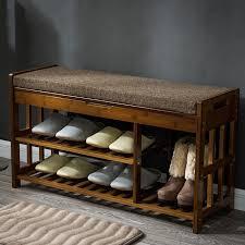 furniture shoe storage. Bamboo Shoe Rack Storage Organizer \u0026 Hallway Bench Furniture Cabinets  For Home Entryway Shelf Furniture Shoe Storage