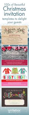 17 best images about custom invitations and cards delight guests christmas invitation templates that set the scene for your best holiday party yet