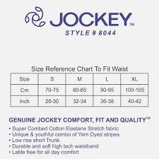 Jockey Womens Underwear Size Chart Www Bedowntowndaytona Com