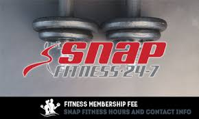 snap fitness hours contact info