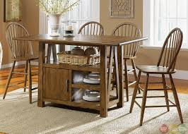Kitchen Tables With Storage Counter Height Dining Room Sets With Storage Duggspace