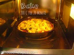 cooking in microwave convection oven.  Oven Bake Pizza Microwave Convection For Cooking In Microwave Convection Oven N
