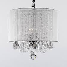 12 very beautiful drum shade chandelier photos