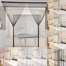 window room string curtain chain fringe panel divider beads