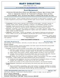 Keywords In Resume Amazing Event Manager Resume Keywords Better