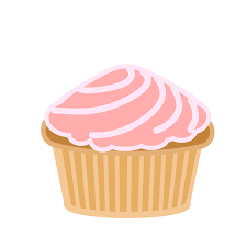 animated birthday cupcakes. Beautiful Cupcakes Pink Swirl Cupcake By QuickStop On Clipart Library And Animated Birthday Cupcakes