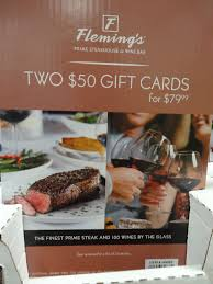 costco flemings gift card