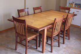 dining set 2 2007pics 491 sm alder bistro alder chairs 60x42 shaker table