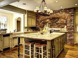 47 Brick Kitchen Design Ideas (Tile, Backsplash & Accent Walls). Mediterranean  Style ...