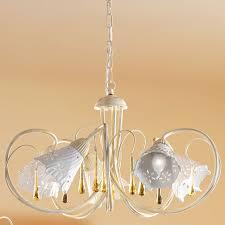 Florentiner Kronleuchter Mit Glastropfen Von Cerabo