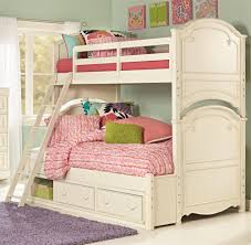 Twin Over Full Bunk Bed with Storage Legacy Classic Kids Charlotte Underbed