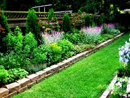 Small Picture long narrow flower bed design ideas Pinteres