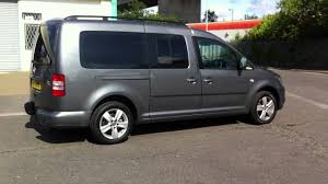 vw caddy maxi life with dark tints on all rear windows and clear uv on the front 2 sides