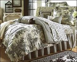 black toile bedding. Simple Bedding Waverly Bedspreads On Garden Room Wellington Toile Bedding  Collection And Black A
