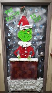 office door christmas decorations. Christmas Decorated Door For Medical Office. Dr. FEEL GOOD Office Decorations O