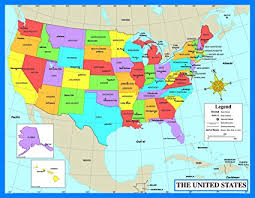 Us Map Chart Us Map Chart Map Of Us