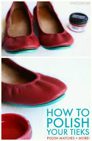 How To Polish Your Tieks Leather Ballet Flats Color
