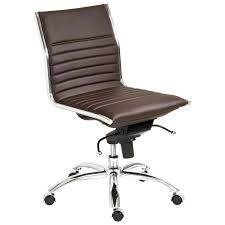 leather office chair no wheels. full size of desk chairs:armless office chair with wheels chairs leather plus white task no e