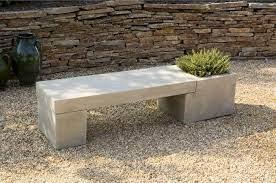 concrete garden bench diy projects