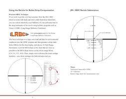 Bdc Reticle Ballistics Chart Riflescope Adjustmentsusi
