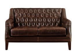 Il letto è facile da usare, si estrae e si richiude senza problemi. Divano A 2 Posti In Pelle Vintage Colbert Marrone