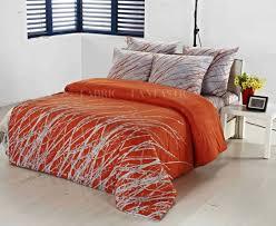 king size bed quilt 4 orange duvet cover king sweetgalas inside gorgeous orange duvet covers