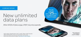 at t announces new unlimited plus and unlimited choice plans
