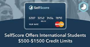In fact, there are two, and neither require an ssn, you can apply with an itin (individual taxpayer identification number): Selfscore Offers International Students 500 1 500 Credit Limits No Social Security Number Or Credit History Required Cardrates Com