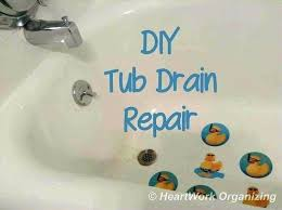 replace tub drain how to fix bathtub stopper new post trending how to make a bathtub