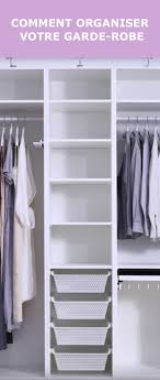 See IKEA video for Pull out rack for pants Pull out hanging hooks for  jewellery Storage boxes for seasonal wear - put these up top.