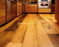Reclaimed Wide Plank Flooring with a story all its own.
