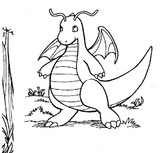 Dragonite Pokemon Di Tipo Drago Disegno Per Bambini Disegni Da