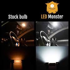 Monster Light Bulb Led Monster 10pcs T10 Wedge Best Value Super Bright High Power 3014 15 Smd 194 168 2825 W5w White Led Bulb Lamp For Car Truck Interior Dome Map Door