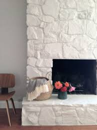 painting a fireplace whiteFireplace Facelifts with howto links  Home By Hattan