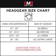 Boxing Head Guard Size Chart Dmb Blue Head Guard
