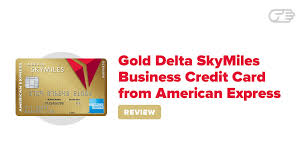 Gold Delta Skymiles Business Credit Card From American Express Reviews