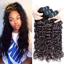 <b>Brazilian Water Wave Bundles</b> Sunlight Human Hair Weave Bundles ...
