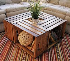 wine crate furniture how to make wine crate coffee table diy crafts handimania