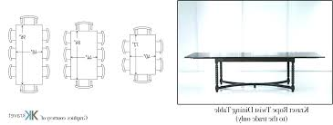 6 person round dining table size 6 person table dimensions fascinating 8 person dining room table