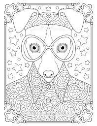 Hippie Animals Coloring Book By Thaneeya Mcardle Thaneeyacom