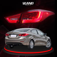 Hyundai Elantra 2012 Brake Light Car Accessories Auto Parts For Hyundai Elantra Led Tail
