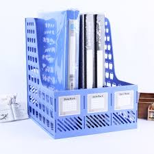 office paper holders. Online Shop Classic Plastic File Tray Paper Holders Office Desk Documents Organizer Box Blue Color | Aliexpress Mobile