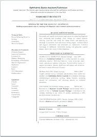 Ophthalmic Assistant Resume Mesmerizing Ophthalmic Technician Cover Letter Ophthalmic Technician Ophthalmic