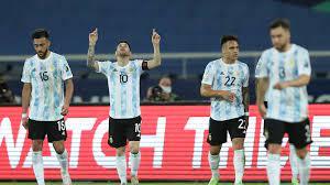 كوبا أمريكا 2021   سقوط الأرجنتين في فخ التعادل أمام تشيلي