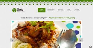 25 Best Recipe And Food Html Templates Weelii
