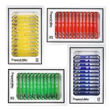 <b>48pcs</b>/<b>set</b> Plastic <b>Prepared Microscope Slides</b> Animals Insects ...