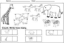 Preschool Worksheets Kids Under 7 Counting For Kindergarten 1 20 Pdf ...