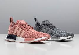 adidas shoes nmd grey and pink. the color pink has never been hotter for sneakers than it is this year, as virtually every sneaker seems to have released in some variety of hue adidas shoes nmd grey and